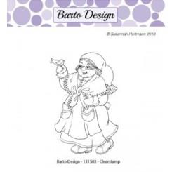 Mrs santa, stempel , Barto design