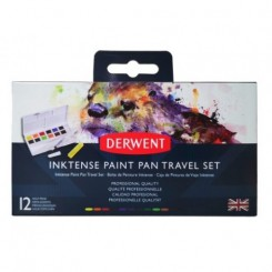 Derwent inktense paint pan travel