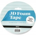 3D- tape rulle 12mmx5m