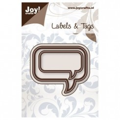 Joy Dies Teksb ballon rectangel