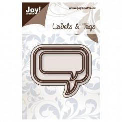 Joy Dies Teksb ballon rectangel