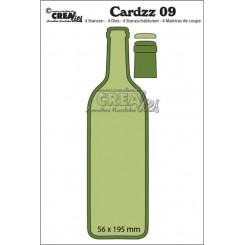 Crealies flaske dies, CLCZ09