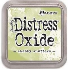 Distress oxide, shabby shutters