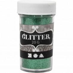 Glitter Grøn 20 g