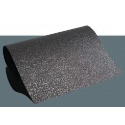 Heat vinyl glitter Sort A4