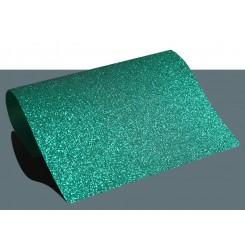 Heat vinyl glitter Grøn A4