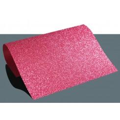 Heat vinyl glitter Pink A4