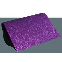 Heat vinyl glitter Lilla A4