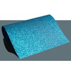 Heat vinyl glitter Lyseblå A4