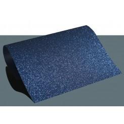 Heat vinyl glitter Blå A4