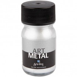 Art metallic maling Silver 30 ml