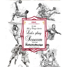 Toppers Let´s play scoccer 18 stk