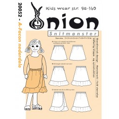 Onion børn 20052 A-facon Nederdel