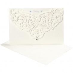 Luksus kort & kuvert Happy Momen