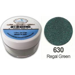 Regal Green Silk glitter