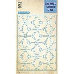 Layered Flower dies 1, NS