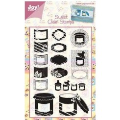 Sweet clear stamps JOY C