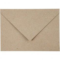 Kuverter 10 stk Kvist papir