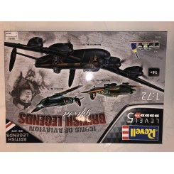 British Legends gift set, 1/72