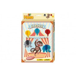 Cirkus midi perle æske