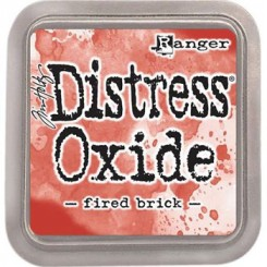 Distress Oxide ink, Fired Brick