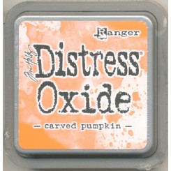 Distress Oxide, Carved Pumpkin