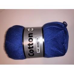 Bomuldsgarn lys marine blå fv. 039
