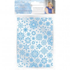 Embossing folder snowflakes C.Comp