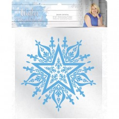 Embossing folder snow crystal C.Com