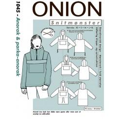 Onion mønster 1045 Anorak