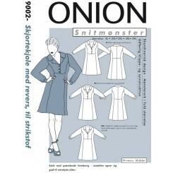 Onion mønster 9002 skjorte Kjole