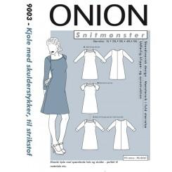 Onion mønster 9003 Kjole