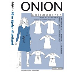 Onion mønster 9004 Kjole plus str.
