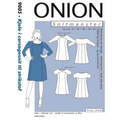 Onion mønster 9005 Kjole plus str.
