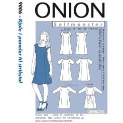 Onion mønster 9006 Kjole plus str.