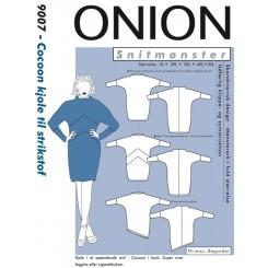 Onion mønster 9007 Kjole plus str.