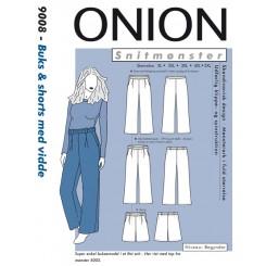 Onion mønster 9008 buks plus str.