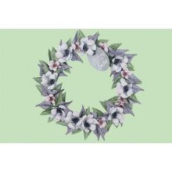 Spring wreath, Forårs krans