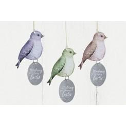 Spring birds kit , komplet til 6 fugle