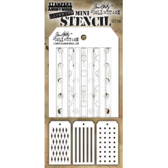 Tim Holtz stencil kit nr. 36