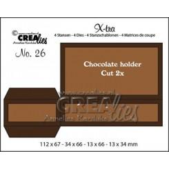 Chocolade holder dies Crealies