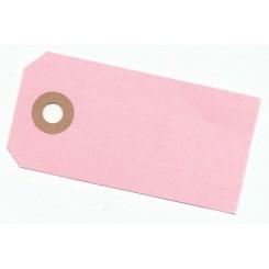 Manilla mærker Lyserød, 4 x 8 cm x 10 stk