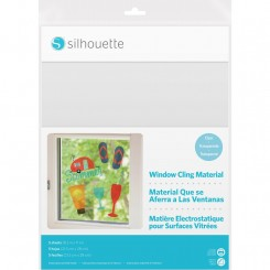 Silhouette Window Cling Materiale