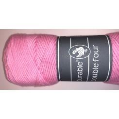 Durable four lyserød bomuldsgarn 100 g