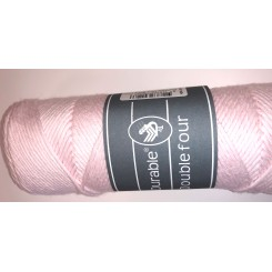 Durable four Baby Pink bomuldsgarn 100 g
