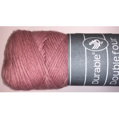 Durable four Vintge pink bomuldsgarn 100 g