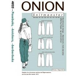 Onion mønster 4025 Pose buks
