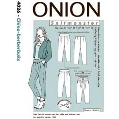 Onion mønster 4026 buks