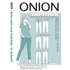 Onion mønster 4029 buks