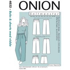 Onion mønster 4032 buks